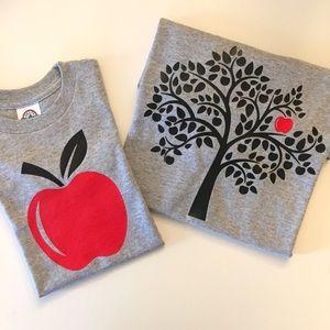 Other - Apple+Tree Matching Shirts (Gray)